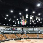 Greyhound Arena lighting